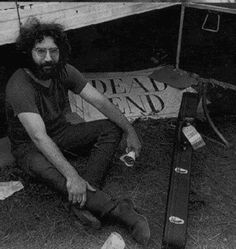 "JERRY GARCIA - JERRY GARCIA [1942-95] Image    ""Nobody stopped thinking about those psychedelic experiences. Once you've been to some of those places, you think, 'How can I get back there again but make it a little easier on myself?'""  —Quoted in Rolling Stone, November 30, 1989"