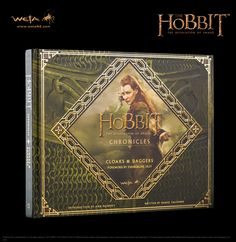 Hobbit Book - The Hobbit: The Desolation of Smaug, Chronicles: Cloaks & Daggers