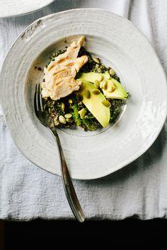 Roasted Broccoli Rabe Bowl
