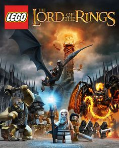LEGO Lord of the Rings Monsters and Villains Poster | Flickr - Photo Sharing!