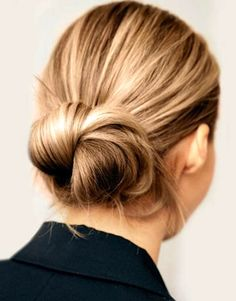 Le Fashion Blog 16 Buns For Any Occasion Hair Inspiration Formal Event Wedding Hair Twisted Low Chignon Via Harpers Bazaar photo Le-Fashion-...