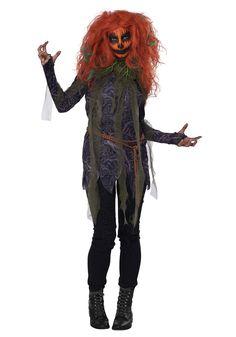 Women's Pumpkin Monster Costume - FOREVER HALLOWEEN