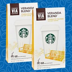 Starbucks Via Veranda Instant Coffee