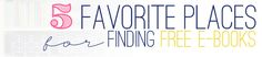 5 Favorite Places for Finding ebooks Online from Kayla Aimee