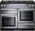 Slate with Chrome Trim, Rangemaster Electric Range Cooker. 2 ovens with 5 zones induction hob. Capacity for left oven 73 litres and right oven 73 litres. Also known as: Nexus 110 Induction Slate, Nexus 110 Induction Slate. Electric Range Cookers, Dual Fuel Range Cookers, Electric Oven, Gas Cookers, Slate Appliances, Kitchen Appliances, Kitchens, Domestic Appliances, Wok