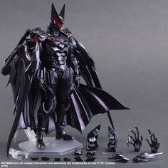 A Closer Look At The Madness That Is The Final Fantasy-Style Batman Toy