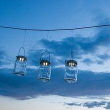 Consol Solar Jar BOCAL SOLAIRE - Lanterne d'extérieur LED solaire H18cm