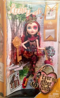 Ever After High Lizzie Hearts Doll - Brand New #DollswithClothingAccessories