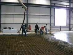 Entrepreneur en Béton; Réfection de béton stationnement intérieur. 1855 613 4773. www.betonuniversel.com