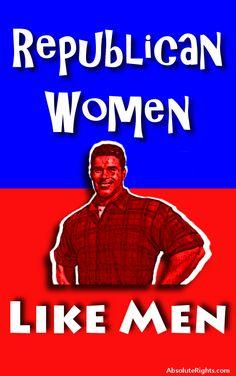 #Republican Women Like Men