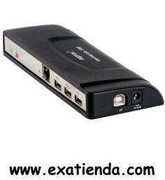 Ya disponible Docking station Approx universal   (por sólo 43.89 € IVA incluído):   -Docking Station con la que podrá tener acceso inmediato a todos los periféricos y a la red de su hogar u oficina a través de su ordenador portátil, conectando un sólo cable USB.   -Entrada: 100V ~ 240V AC -Salida: 5V DC/ 2,6A 1 Puerto USB Upstream para la conexión al ordenador (Tipo B) 4 Puertos USB Downstream para dispositivos (Tipo A) 1 Entrada para micrófono (jack 3,5mm) 1 Salid