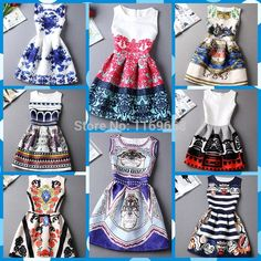Cheap Dresses on Sale at Bargain Price, Buy Quality Dresses from China Dresses Suppliers at Aliexpress.com:1,Neckline:O-Neck 2,Decoration:Appliques 3,Color Style:Natural Color 4,Pattern Type:Print 5,Material:Cotton