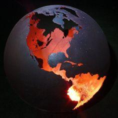 Handmade Earth Fire Ball | Sphere Fire Pit | Fireball – Coast & Country Store