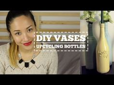 DIY Bottle Decor | How To Upcycle Bottles