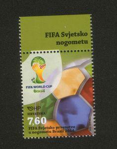 CROATIA-MNH-STAMP-SPORT-FOOTBALL-SOCCER-FIFA WORLD CUP, BRASIL-2014.    eBay
