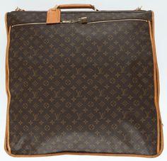Louis Vuitton Classic Monogram Canvas Garment Bag