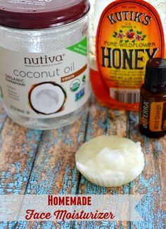 Homemade Face Moisturizer  - Only 3 ingredients!