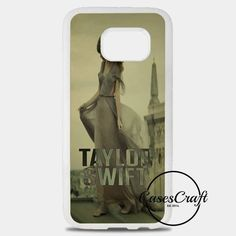 Taylor Swift With Lovely Guitar Samsung Galaxy S8 Plus Case | casescraft