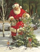 Santa Claus Posters and Art Prints - Christmas Pictures Christmas Scenes, Noel Christmas, Father Christmas, Vintage Christmas Cards, Christmas Pictures, Winter Christmas, Xmas, Santa Pictures, Santa Clause Pictures