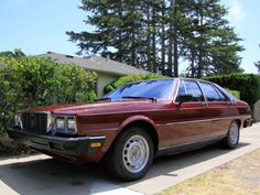 Learn more about Kenne Bell Supercharged: 1982 Maserati Quattroporte on Bring a Trailer, the home of the best vintage and classic cars online. Maserati Quattroporte, Classic Cars Online, Quad, Ferrari, Handsome, Vehicles, Trains, Lost, Colors