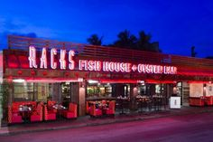 Rack's Fish House and Oyster Bar in Delray Beach, Florida