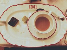 coffee at Zédel