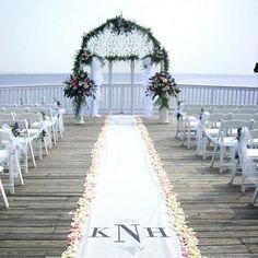 wedding decorations church aisle   Wedding in Church: Wedding Aisle Decoration
