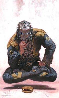 Xorn by Gabrielle Dell'Otto, after Frank Quitely.