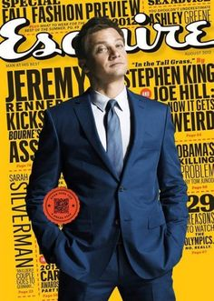 Jeremy Renner - Esquire Magazine Cover [United States] (August 2012)