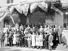 State Archives of Florida, Florida Memory, http://floridamemory.com/items/show/117822 Florida Orange Festival, Governor's Day. Owen, Otto. Burr, George.Newman, Al. Stall, Jay Gray, W. D. Jollay, Henry. Andrews, George Frederick, 1899. Fuller, Jack. Osborn, Stanley Mayo, Nathan, 1876-1960. MacCalla, J. D. Carlton, Doyle Elam, 1885-1972. Collins, General May, John F. Snively, John Andrew, Sr., 1889-1958. Hass, Russell.