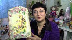 Панно-фреска с ангелами своими руками ХоббиМаркет#26 выпуск