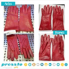 En Pressto damos una segunda prenda a tus prendas. ¡Mira cómo hemos dejado estos guantes!  #MejorConPressto Gloves, Leather, Fashion, Gifs, Moda, La Mode, Fasion, Mittens, Fashion Models