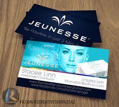Jeunesse Business Cards