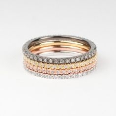 Stackable Rings from Astrid & Miyu