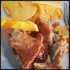 Leitão de porco bísaro, Portugal www.viajecomigo.com