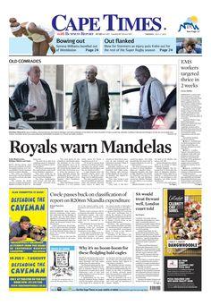 Royals warn Mandelas