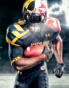 Under Armor's New Maryland Uniforms Make Me Hungry for Crab Cakes and Football.
