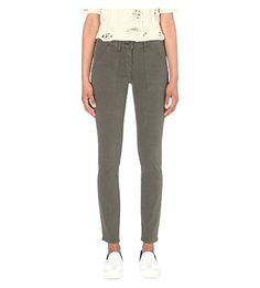 3X1 Military skinny mid-rise jeans. #3x1 #cloth #jeans & denim