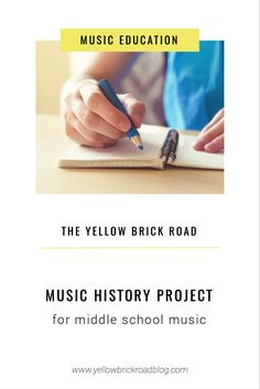 Make learning about western art music history fun with this easy music project idea for middle school music. Download the free project guide to get started!