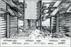 Paul Rudolph - Lower Manhattan Expressway - 1967-1972[via]