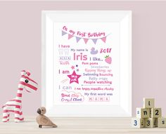 Newest Totally Free Milestone year Nursery birthday nursery Print-Personalised Nursery print-I am Birthday-Gift for 1 year old Style Skilled gifts are generally gifts that can be directed at all people about birthday celebrations, Keepsake Baby Gifts, New Baby Gifts, Personalized Gifts, 1st Birthday Gifts, Professional Gifts, Toddler Gifts, Newborn Gifts, Nursery Prints, Office Gifts