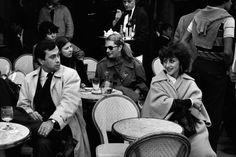 Café, Saint Germain-des-Prés, 1980