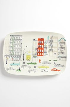 kate spade new york hopscotch drive about town oblong platter available at #Nordstrom