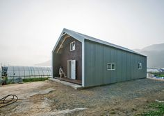 Cheap materials including corrugated steel and bubble wrap was used to create these affordable homes.