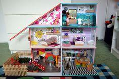 Upcycled Dolls House