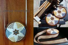 Crochet bag with woven strap. Crochet, Bags, Ideas, Handbags, Taschen, Knit Crochet, Purse, Crocheting, Purses