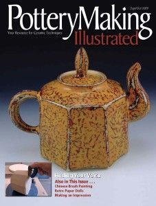Pottery Making Illustrated September/October 2009 Issue Cover