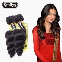 Hair Products Brazilian Loose Wave 2Pcs 6A Unprocessed Human Hair Weave Bundles Virgin hair extension Loose Wave