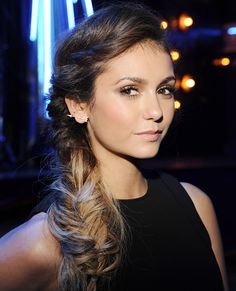 10 Summer Styles to Wear Right Now - Nina Dobrev's Messy Fishtail from #InStyle