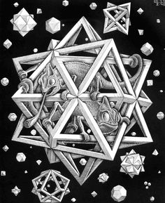 escher - ✖️More Pins Like This One At FOSTERGINGER @ Pinterest✖️